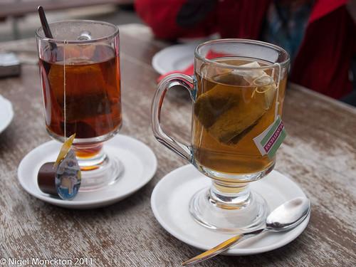 A restorative cup of tea