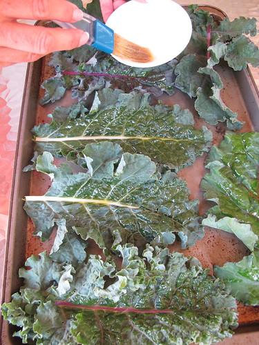 Baking Kale