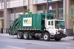 Waste Management Garbage Truck (TheTransitCamera) Tags: truck garbage management waste
