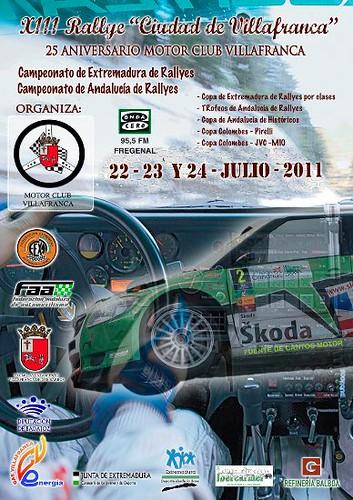 Rallye Villafranca 2011