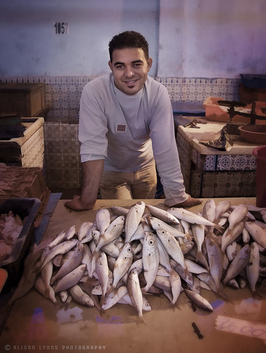 The young fishmonger of Bizerte by alison lyons photography