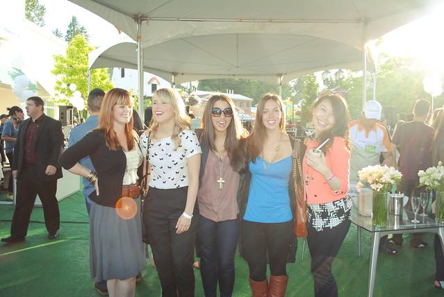 Jen, Melissa, Me, Alexandra & Jen