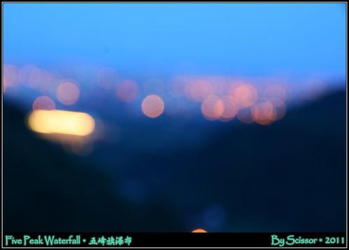 聖母朝聖地 夜景模糊焦