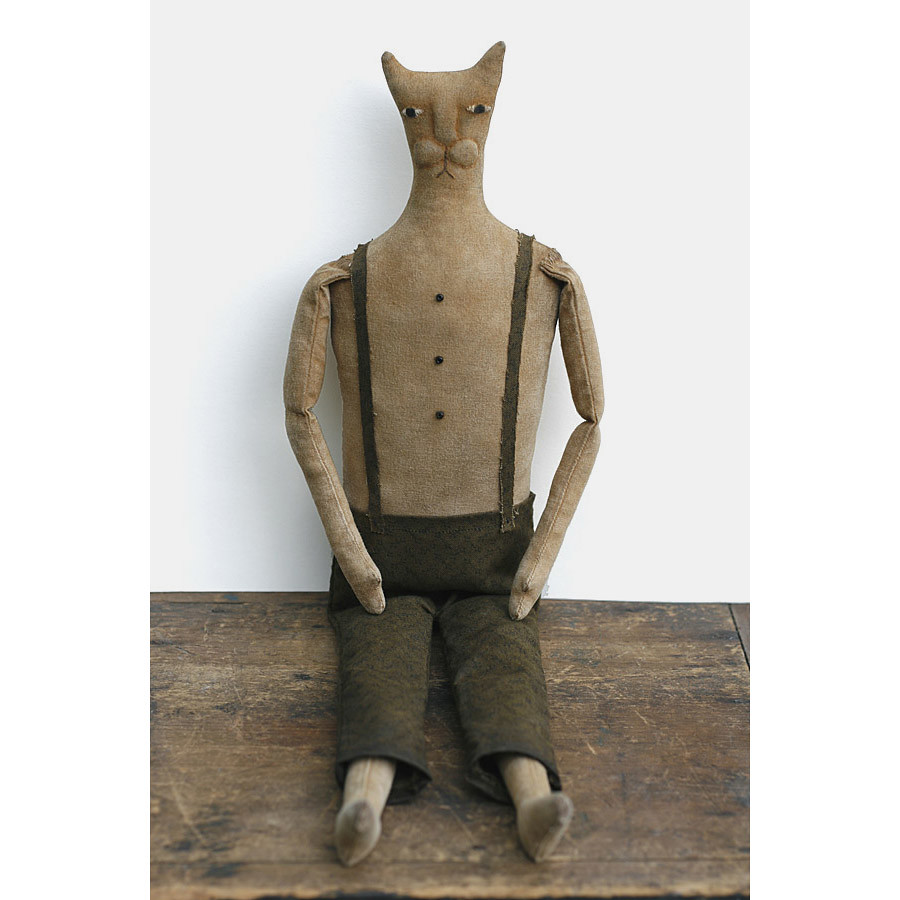 Primitive Barn Cat Doll