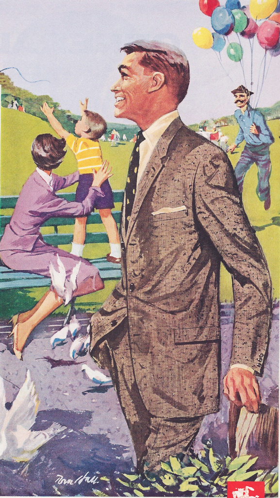 Summer Mens fashions Hart Schaffner 1948