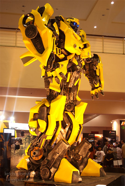 Bumblebee Transformers full body
