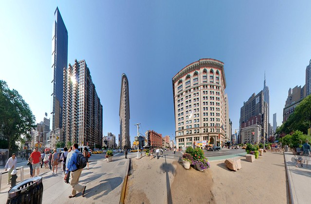 Flatiron Building Panini Projection