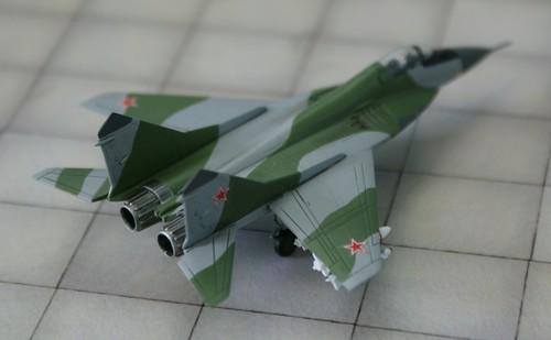 "Revell + Academy 1/144 - MiG-29 Fulcrum "" Soviet Air Forces"" - Completed - 2"