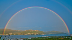 Night rainbow over Troms (Per Ivar Somby) Tags: rainbow troms regnbue tromsysund