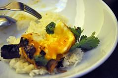 Melbourne (Kat n Kim) Tags: restaurant rice egg australia melbourne victoria smithst chef vic smashed asianfood yolk thaifood easytiger soninlawegg jarrodhudson