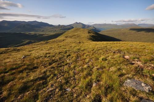 Ridge to Carn Dearg from Glas Bheinn