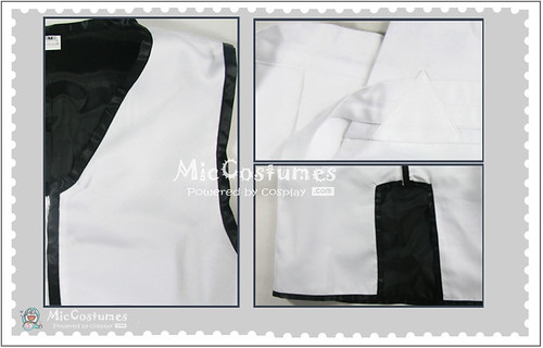 Bleach Sosuke Aizen Cosplay Costume_2