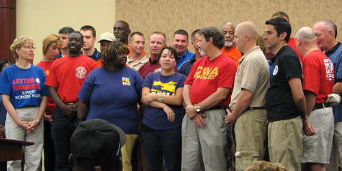 News Conference Union Members