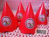 Cahapeuzinho Personalizado (Ateliê da Beta) Tags: minnie festa chapéus lanchinho lembrancinhas caixinhas guloseimas cachepo bloquinhosdemontar