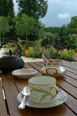 After Lunch Tea at Château de Bagnolet