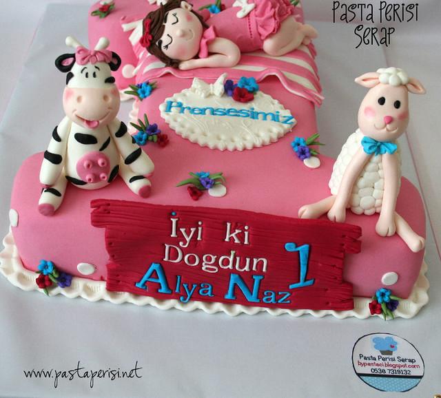 1ST. BIRTHDAY CAKE - Alya naz
