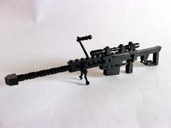 Barrett 50. cal. Sniper (Angelo_S.) Tags: lego cal weapon 50 barrett