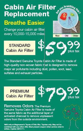 Passenger Air Filter Replacement - Toyota Service Repair Center