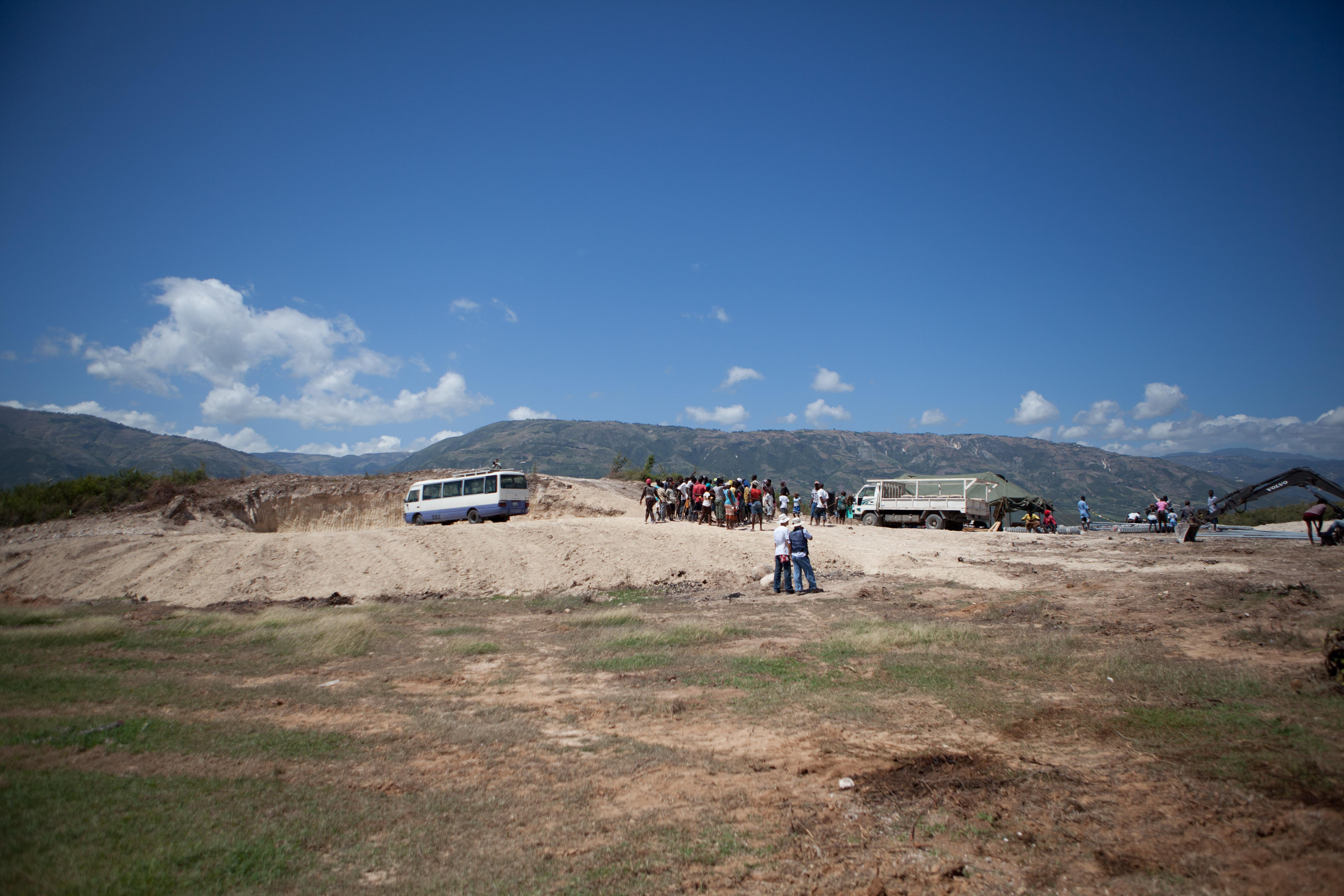 2011 아이티단기선교 건축현장 (2)