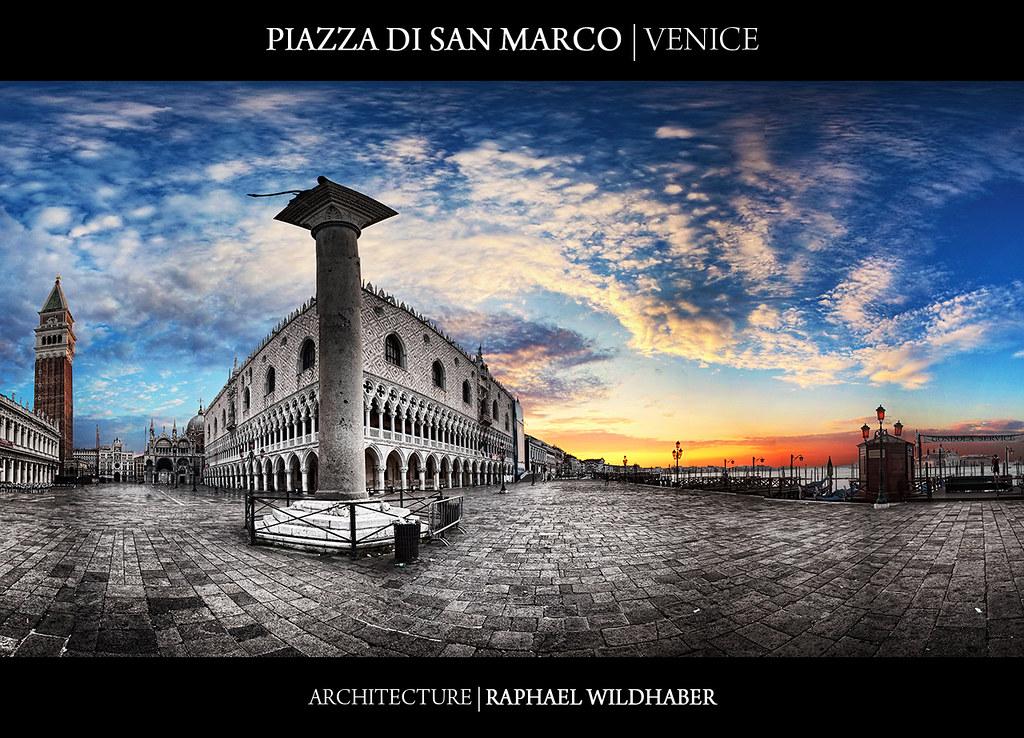 Piazza di San Marco - Riva degli Schiavoni - Venice | Vertorama