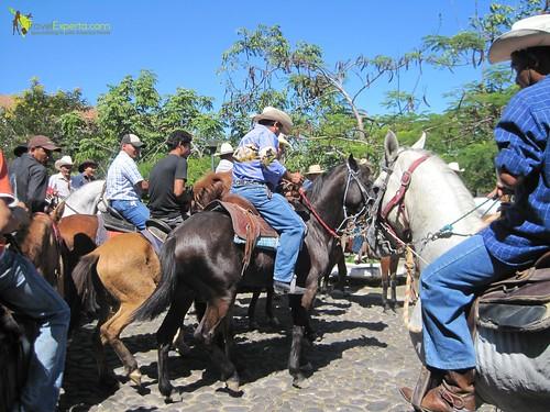 Cowboy Parade Horses Suchitoto El Salvador