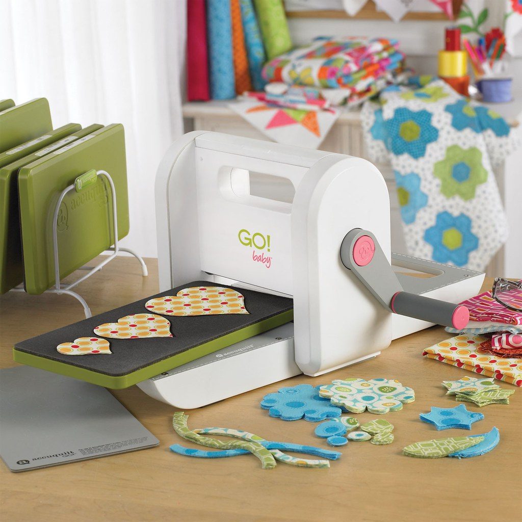 Giveaway! Win an Accuquilt GO! Baby Fabric Cutter