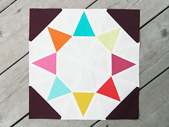 Evening Star (Fresh Lemons : Faith) Tags: tutorial quiltblock paperpiecing patbravo pureelements summersamplerseries