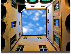 La pinacoteca (meghimeg(temporarily disconnected)) Tags: windows sky clouds nuvole courtyard explore cielo pinacoteca cortile finestre 2011 savona