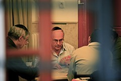 Secret Jewish Business (Alex E. Proimos) Tags: city playing window cards closed hungary doors secret budapest synagogue business hidden jew jewish behind peeking buda pest hungarian