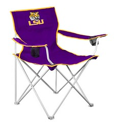 LSU Tigers Deluxe TailGate/Camping Chair