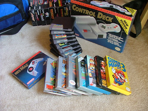 NES Compact and games