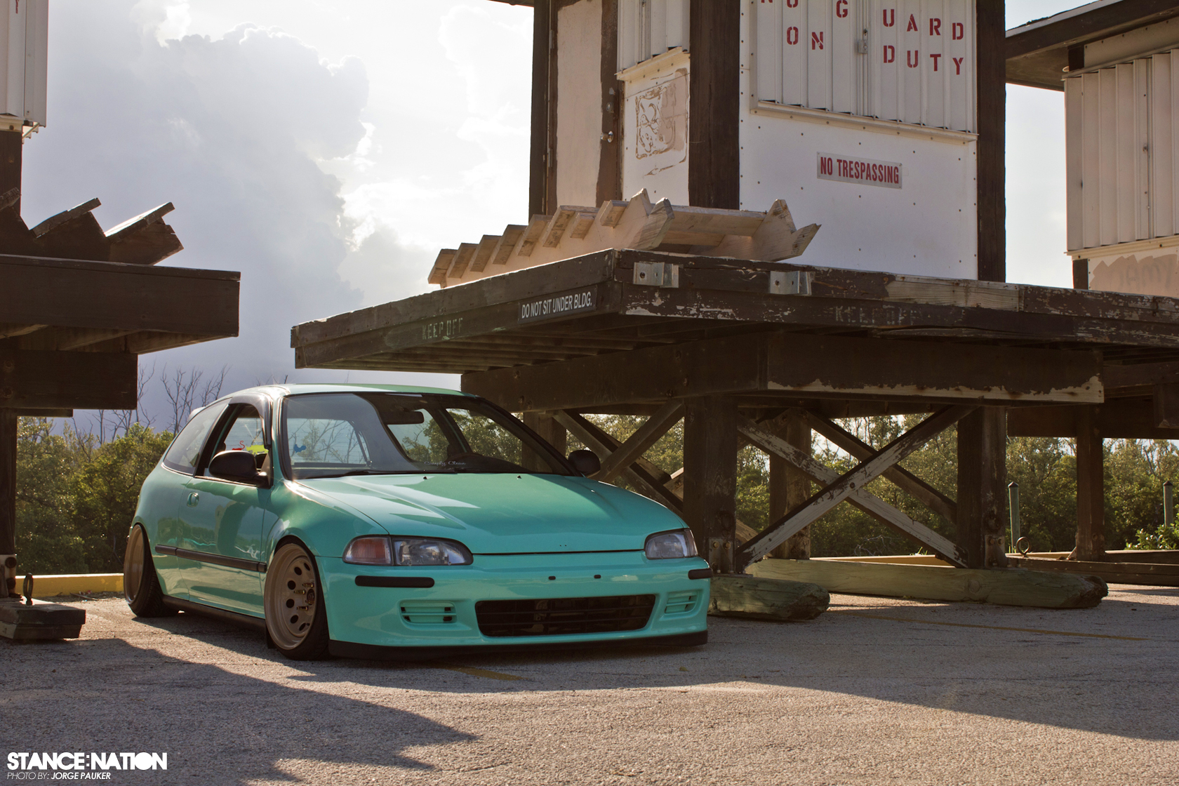 Honda Civic Hatchback Stance