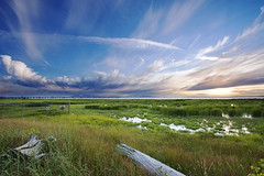 Summer of 2011 (LiatNjoo) Tags: sky cloud canada landscape bc wideangle richmond ionabeach 1735mmf28 d700
