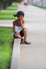 A Little Bit Sad (ionut iordache) Tags: china boy canon child sad beijing templeofheaven peking peoplesrepublicofchina canonef70200mmf28lusm canoneos50d canon50d