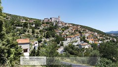 EUS - Hill top Catalan Village (doublejeopardy) Tags: travel panorama holiday france village continent catalan eus holiday2011