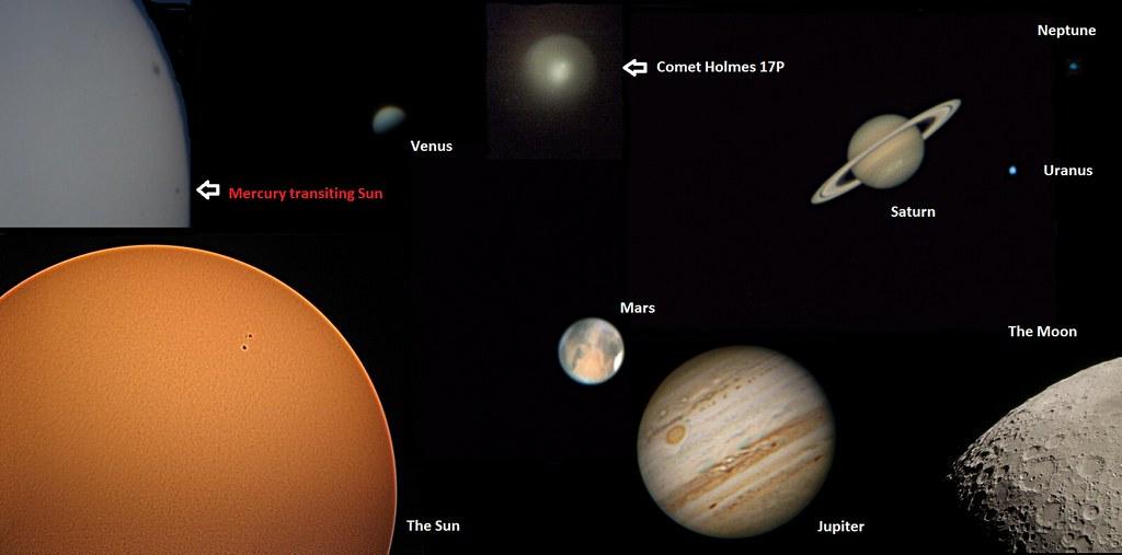 Afocal Solar System Montage