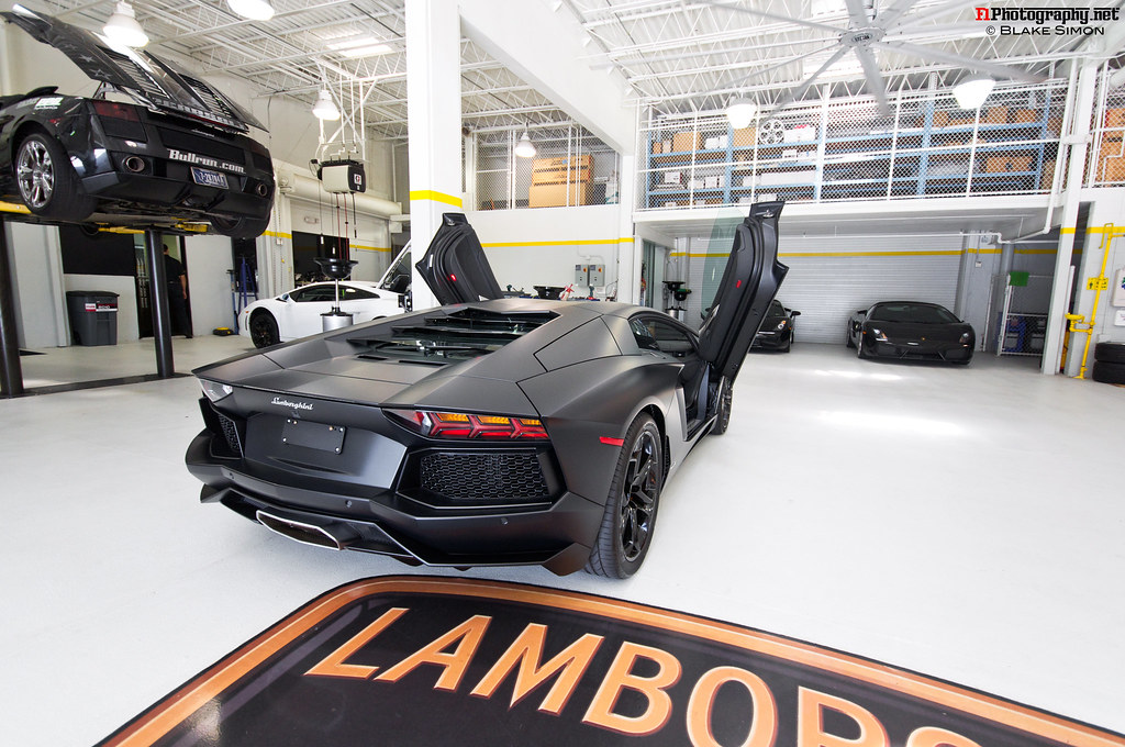 ... Lamborghini Palm Beach Today To Check Out The Aventador Thanks To A  Friend Of Mine Who Is Friends With One Of The Guys At LofPB.