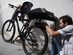 Adaptação de porta-bagagens da Humpert