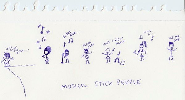 Musical Stick People