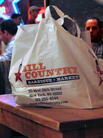 hill country bbq bag