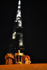 Ramadan Mubark ♥ ♥ (Muneerah Ibrahim) Tags: building love downtown dubai you khalifa ramadan burj tallest danbo 3bood mubark