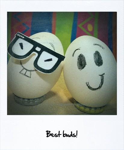 Eggo's bff by elineart