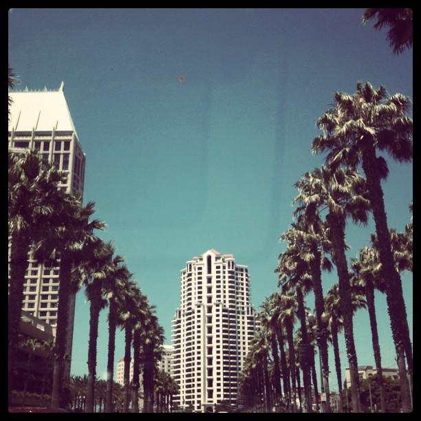 Bye bye San Diego. It's been fun. #blogher11