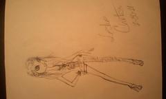 Gyaru inspired sketch (barbies.r.agnostic) Tags: fashion illustration gyaru