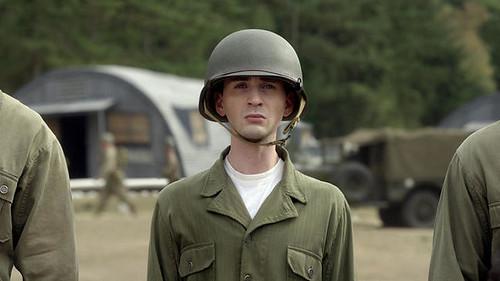 Chris Evans as Steve Rogers
