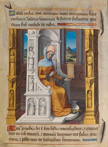 003-Sibila Persica-Sibylla Prophetae et de Cristo Salvatore vaticinantes-1490- BSB Cod. icon. 414-Münchener DigitalisierungsZentrum