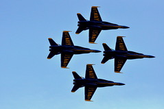 Blue Angels In Formation (J Raymonds) Tags: seattle navy blueangels seafair fighterjets navyblueangels