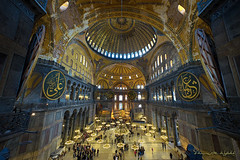 Ayasofya (Yavuz Alper) Tags: museum architecture mosque 8mm hagiasophia mimari ayasofya d7000 sigma816