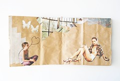so much to say (Jordan E. Clark) Tags: collage bag paper book diy blog like craft tape giselle magazines washi