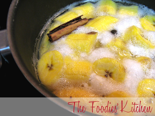 Atol de Platano ( Hot Plantain Beverage)